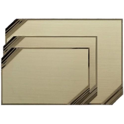 plachete metalice si lemn